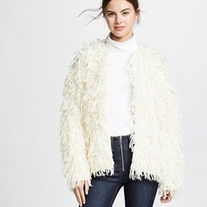 Rag & Bone Amber shaggy wool cardigan